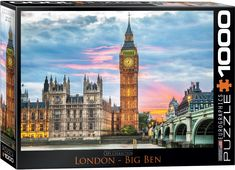 London - Big Ben Jigsaw Puzzle at Eurographics