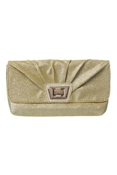 Abby Glitter Clutch in GOLD #15826 - colette by colette hayman $14.95