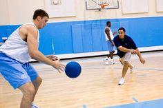 The Tar Heels Medicine Ball Abs Workout
