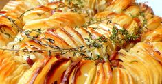 Much lighter than your traditional potato bake, this fluffy and crispy is sure to delight!