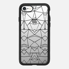Abstract Mirrored Transparent - Classic Grip Case #Casetifyiphone7 #iphone7 #abstract