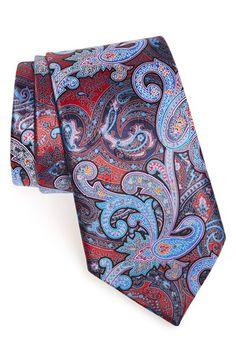 Ermenegildo Zegna Paisley Silk Tie | Nordstrom