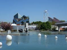 Futuroscope theme park, Poitiers. A must, loads of fun.