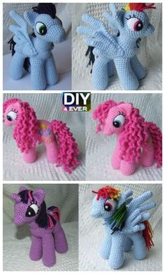 10 Cutest Crochet Unicorn Free Patterns