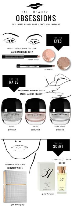 Fall Beauty OBSESSIONS