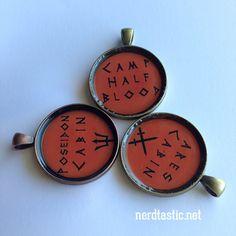 Percy Jackson Camp Half Blood Keychain or by shopNerdtastic  @godsgirleb