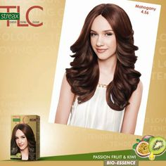 Stand out from the crowd with a new hair colour. Try out the #StreaxTLC Mahogany.