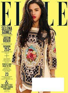 Selena Gomez na 'Elle' de julho