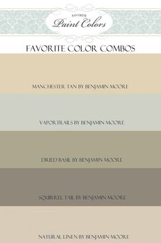 "Previous comments:  A pinner said ""Favorite Paint Colors. Most of my house is vapor trails. It's the best blue without it looking like a baby boys room. My bedroom is dried basil and I love the peacefulness!"" Natural linen is lovely for a baby girl's room."