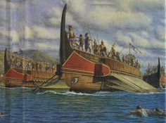 ancient greek ship art | When the Roman Empire came about, they took the idea of the Greek ...