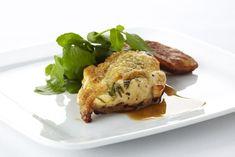 Recepten - Gegrilde kip met dragon en gepofte aardappel - Kip