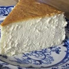 Summary: This is the single best cheesecake I have ever had. I discovered this Jim Fobel's cookbook about 20 years ago, and it is the one I return to again and again. It is creamy smooth, lightly sweet, with a touch of lemon. This cheesecake has become the favorite of family and friends who've had the good fortune to be served this slice of heavenly goodness.