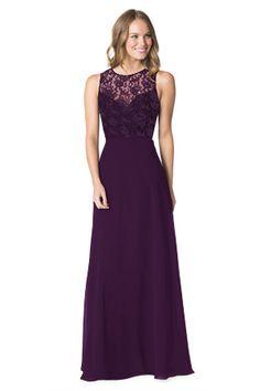 e90532b8fd Lara s Dress in Eggplant Plum Colored Bridesmaid Dresses