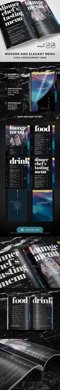Cocktail Drinks Menu Drink menu, Food menu and Print templates - drinks menu template