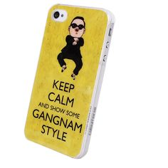 Gangnam Style protector Case for iPhone 4/4s/5 for big sale!
