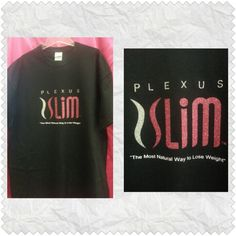 Glittery Plexus Slim t-shirt.  Various colors and sizes available.  $22