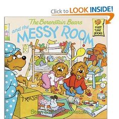 Teach students about keeping their (classroom) clean with The Berenstain Bears and the Messy Room by Stan  Jan Berenstain