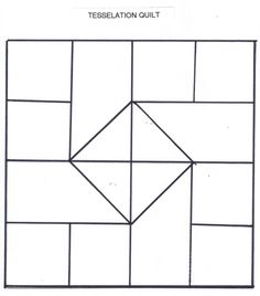 Tessellation Quilt Template Barn Patterns Graph Paper Doodles Zentangles Quilts