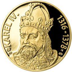 KAREL IV., KRÁL A CÍSAŘ - 700. VÝROČÍ NAROZENÍ - ZLATO