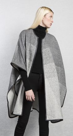Yilla Cape by A Peace Treaty. 100% baby alpaca, handwoven in Peru.