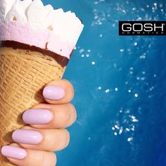 We're going finger lickin' good for summer with our French Dream Nail Lacquer! Yum!  #goshcosmetics #naillacquer #nails