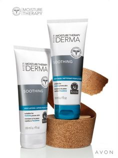Love that Avon's Moisture Therapy Derma is suitable for eczema-prone skin! This new formula is dermatologist tested and still mild enough to soothe away dryness. #AvonRep To order go to: www.youravon.com/tanyastroman or call (323) 723 - AVON.