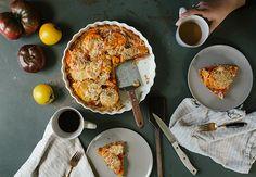 A Savory Gluten-Free Tomato Tart Recipe