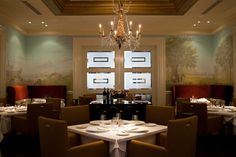 R'evolution, Royal Sonesta New Orleans.  I haven't eaten here yet, but I have ALWAYS loved Chef John Folse's food!!!