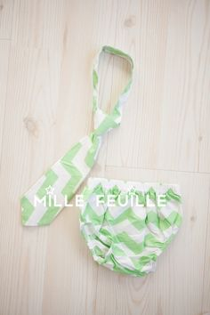 baby boy chevron tie and diaper cover by MilleFeuilleBoutique, $19.99