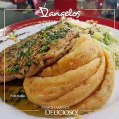 Pollo al Ajillo #SencillamenteDelicioso en Puerto Ordaz #Guayana #gastronomía  Haz tu pedido con @taxiweb2016 y te lo entregan en la puerta de tu casa u oficina.  #gourmet #almuerzo #cena #lunch #dinner #instafood #FelizMartes