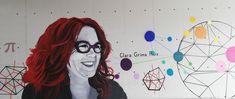 Mural dedicado a Clara Grima, matemática y divulgadora. Localizado en la Biblioteca Campus Gandia CRAI. Inaugurado en la Semana de la Ciencia 2020 Anime, Art, Science Week, Art Background, Kunst, Cartoon Movies, Anime Music, Performing Arts, Animation