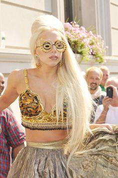 nice shades lol Lady Gaga