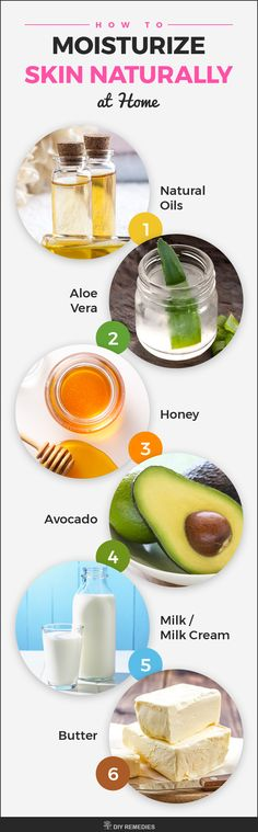Natural Moisturizers for the Skin Here are some best natural moisturizers that contain all essential nutrients to keep your skin well moisturized. #DIYRemedies