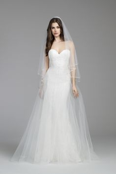 Bridal Gown - Tara Keely Style 2659 w/ Matching Veil V659