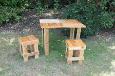 Pallet garden furniture - by Joe Mason