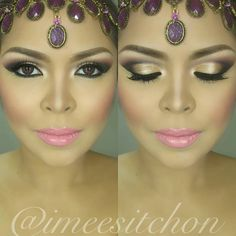 Arabic makeup look @ imeesitchon