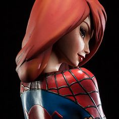Marvel Mary Jane Polystone Statue by Sideshow Collectibles | Sideshow Collectibles