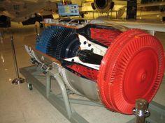 A-4 SKYHAWK   J-65 TURBOJET ENGINE Naval Air Museum, Pensacola, Fl