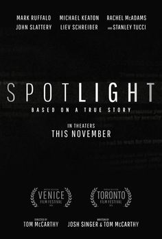 #SpotlightMovie - In theaters November 6. See the trailer http://trailers.apple.com/trailers/independent/spotlight/