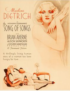 The Song of Songs   (1933)  ***