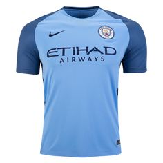 Manchester City 16/17 Home Soccer Jersey
