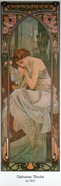 Alphonse Mucha (I love the texture of his pieces. They look like they're made of silk)