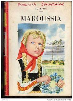 BIBLIOTHEQUE ROUGE ET OR      SOUVERAINE      MAROUSSIA        P.J. STAHL   1955