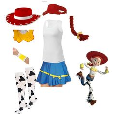"""Jessie running costume"" by maramarrie on Polyvore"