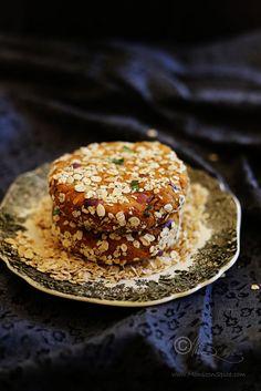 Monsoon Spice | Enthüllen Sie die Magie der Gewürze ...: Indische Styled Spicy Vegan Süßkartoffel, Hafer und Kichererbsen Burger Rezept | Einfach Vegan Burger Rezept