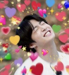 ❝She's a delicate little flower, hyung,❞ Jungkook grabs his leather jacket and slips it on. ❝And if anyone is going to hear sinful moans pass those innocent lips, it'll be me. Foto Bts, Bts Photo, Jimin Jungkook, Taehyung, Bts Emoji, Sapo Meme, Bts Face, Bts Meme Faces, Heart Meme