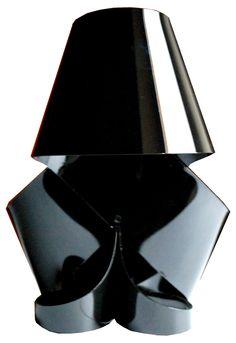 MISS MILLY DARK, nylon table lamp by ZUUUM, design Samuele Santi