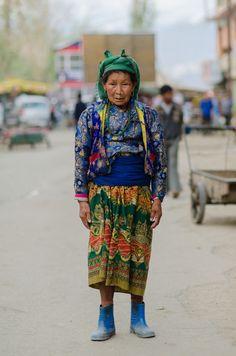 Working Class Woman in Ladakh