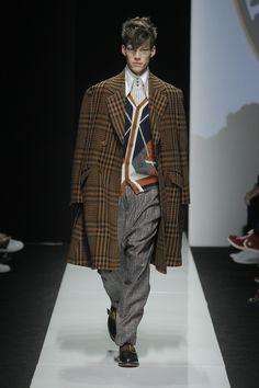 Look 02 at Vivienne Westwood #AW1516 MAN