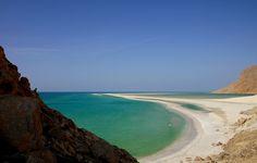 Qalansiya Beach, Socotra Island, Yemen.